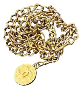 Chanel Gold CC Chain Belt Two-Way 1982 212802
