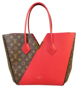 Louis Vuitton Lv Brand New Monogram Kimono Tote in red&monogram