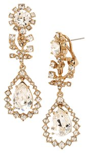 Marchesa Crystal Statement Earrings