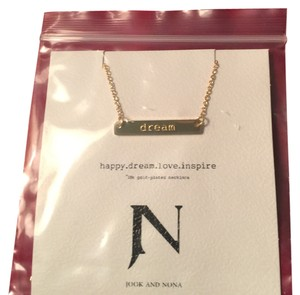 Jook & Nona Jook and Nona // DREAM // 18k gold plated necklace