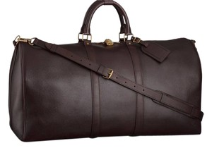 Louis Vuitton Duffle Limited Edition Utah Commanche Nomad BROWN Travel Bag