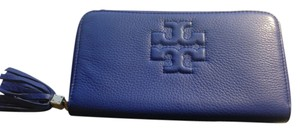 Tory Burch Morocan Blue Clutch