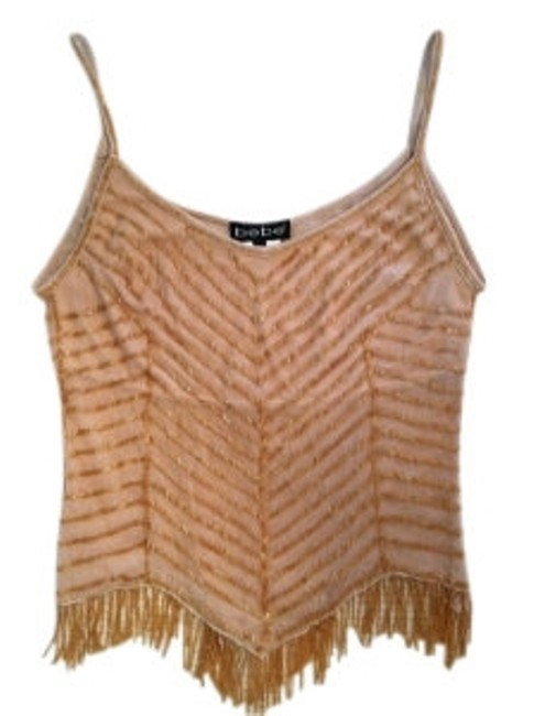 Preload https://item1.tradesy.com/images/bebe-gold-semi-sheer-with-beadwork-night-out-top-size-4-s-20375-0-0.jpg?width=400&height=650