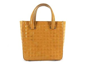 Chanel Quilted Brown Tote in Tan