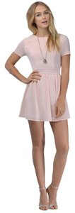 Tobi short dress peach on Tradesy