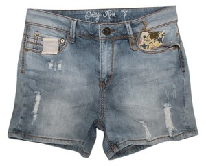 Indigo Rein Mini/Short Shorts Light Blue