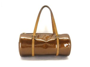 Louis Vuitton Barrel Papillon Speedy Copper Satchel in bronze