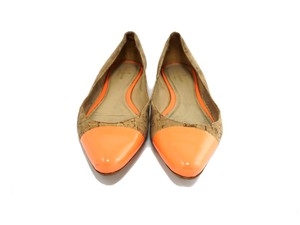 Kate Spade Cork Orange Flats