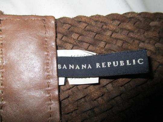 Banana Republic wide woven leather Image 1
