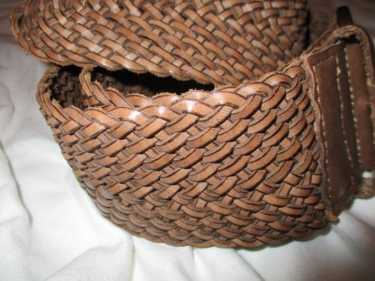 Banana Republic wide woven leather Image 3