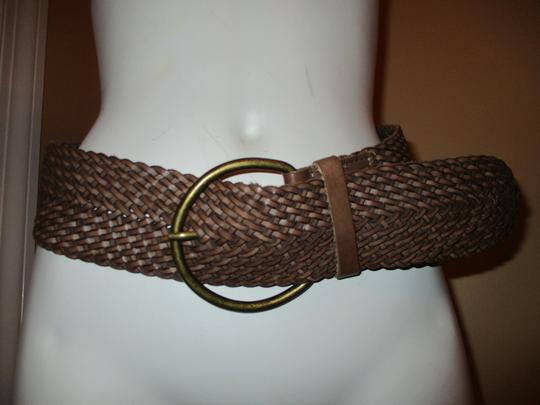 Banana Republic wide woven leather Image 6