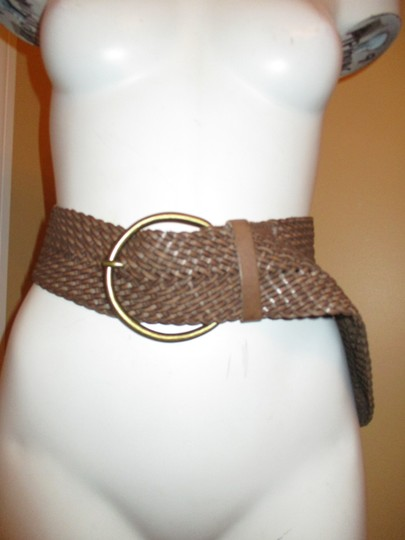 Banana Republic wide woven leather Image 7