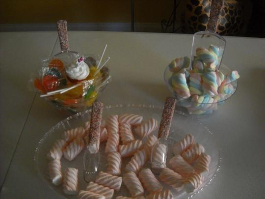 Candy Sprinkle Party Candy Bar Buffet Scoops And Tongs 4pc