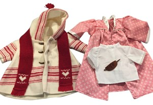 American Girl Doll Clothes Christmas Gift Dress