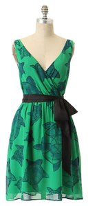 Anthropologie Turtle Sash Dress