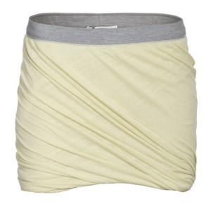 T by Alexander Wang Mini Skirt Neon Yellow