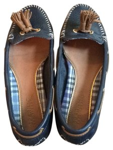 Sperry Navy Blue Flats