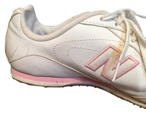 New Balance White w/ light pink accents Athletic