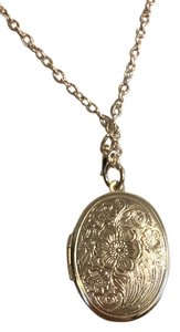 Other Plated Locket Necklace with chain