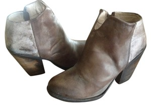 FreeBird By Steven Detroit Ankle Leather Stone Boots