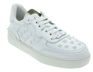 Valentino Sneakers Fashion Studs White Athletic