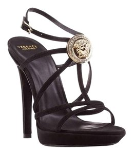 Versace Pumps Platforms BLACK Sandals