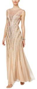 Adrianna Papell Sequin Ombre Gown Dress
