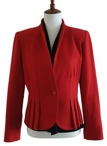 Jacques Wool Vintage Red Blazer