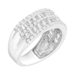 Finecraft FINECRAFT 1 1/2 ct Diamond Band Ring