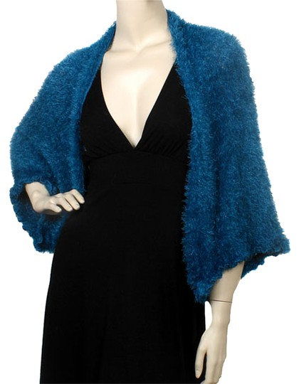 Other Dark Teal 100% Polyester Multi Form Style Bolero Image 0