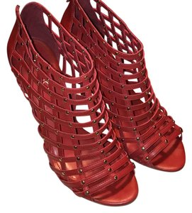 ALDO Deepal Embroidered Red Formal