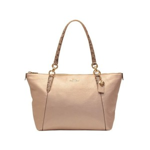 Coach Tote in Platinum