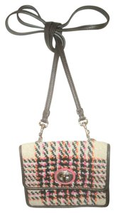 Coach Legacy Colorblock Wool Cross Body Bag