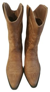 Etcetera Cowgirl Western brown Boots