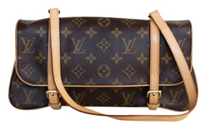 Louis Vuitton Marelle Marele Monogram Evening brown Clutch