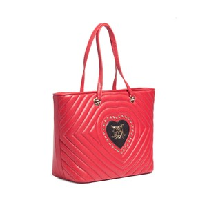 Moschino Tote in Red/Black