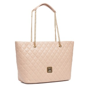 Moschino Tote in Turtle Dove