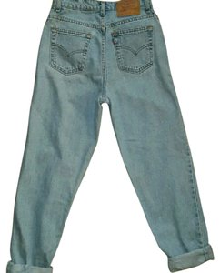 Levi's Boyfriend Cut Jeans-Medium Wash