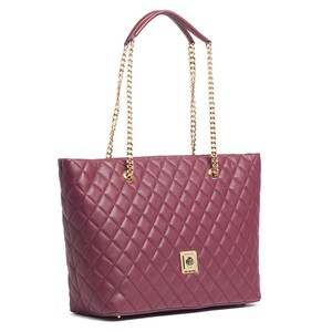Moschino Tote in Plum