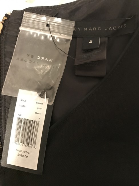 Marc by Marc Jacobs Empire Waist Wool A-line Dress Image 2