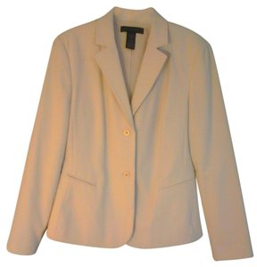 The Limited Cream Blazer