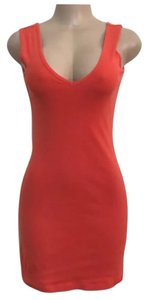 Moda International short dress orange on Tradesy