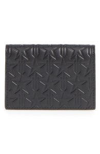Givenchy BRAND NEW Trident Star Embossed Card Holder Wallet