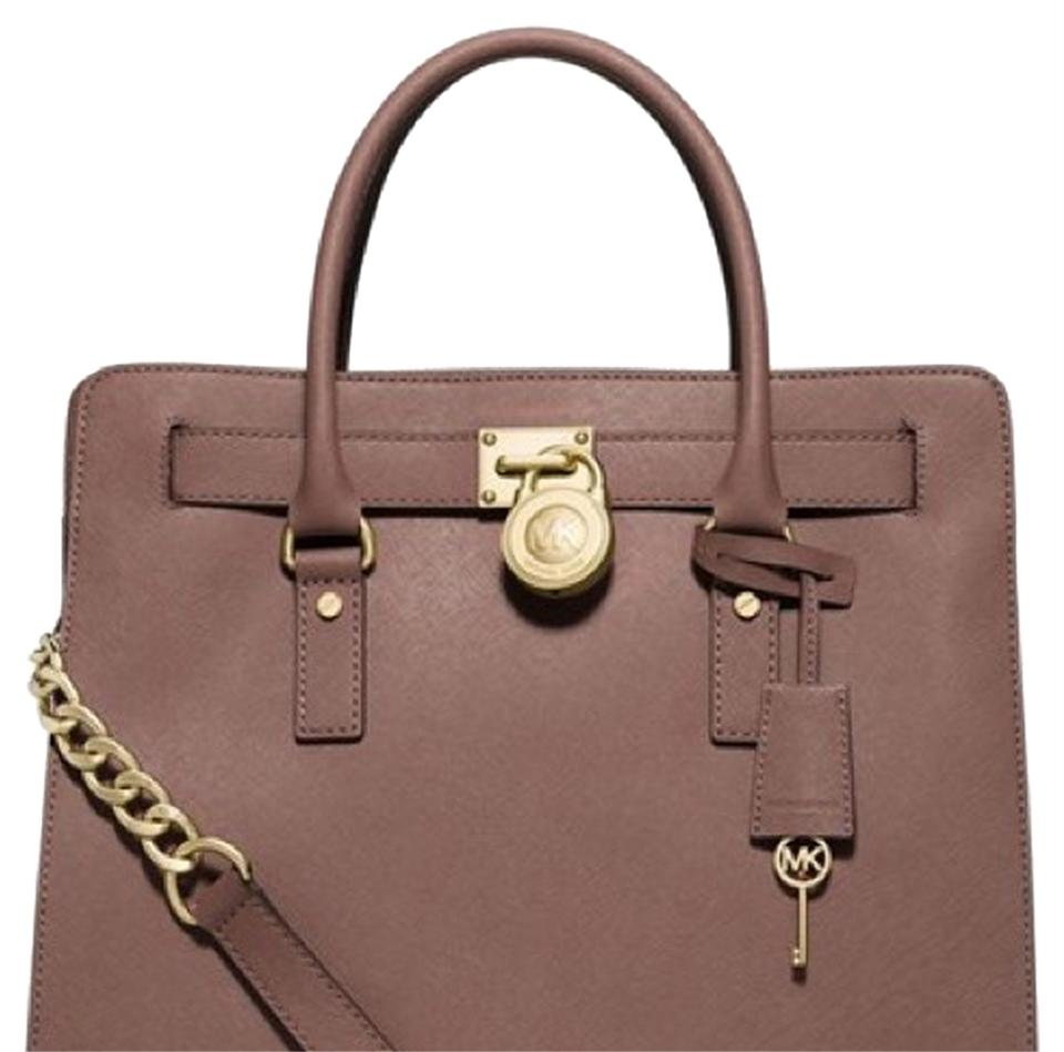 7979e7a7c253e0 Michael Kors Hamilton Dusty Rose Satchel on Sale, 27% Off | Satchels ...