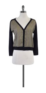 Orla Kiely Color Print Sparkle Cardigan