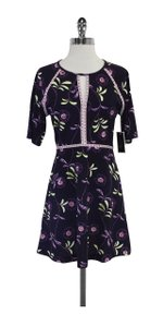 Juicy Couture short dress Roma Floral Texture on Tradesy