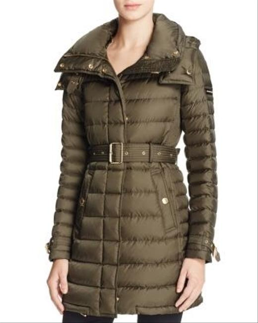 Item - Grey Harrowden Quilted Coat Size 4 (S)