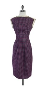 Marc by Marc Jacobs short dress Multi Color Plaid Cap Sleeve on Tradesy