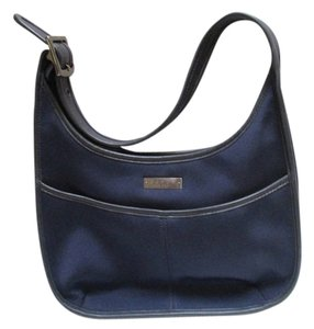 Coach Microfiber Single Strap Hobo Bag
