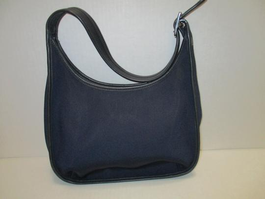 Coach Microfiber Single Strap Hobo Bag Image 2